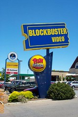 Blockbuster Golden Grove (RS 1990) Tags: early video bank retro adelaide bp southaustralia nab blockbuster petrolstation 2000s liquorland cafebella pizzahaven