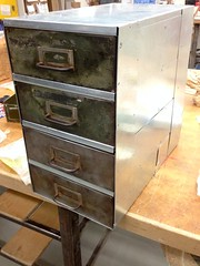 Use Scraps (ericmonasterio) Tags: usa metal hardware cu box storage made sheet brake pan scraps recycle em galvanized shear