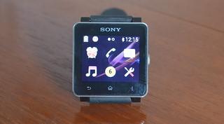 Sony smart watch home screen