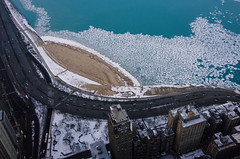 LSD in Winter (benchorizo) Tags: winter chicago cold ice weather frozen nikon cityscape lakemichigan lakeshoredrive oakstreetbeach chicagoist banias johnhancockobservatory d7000 benchorizo romeobanias