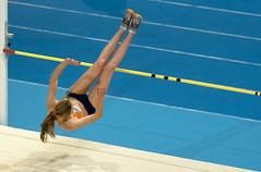 P2163201 (roel.ubels) Tags: sport high jump indoor omnisport apeldoorn nk 2014 atletiek hordelopen meerkamp hoogspringen