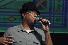 Boutté Family Gospel (2014) 08 - Vance Vaucresson (KM's Live Music shots) Tags: gospel unitedstates neworleans bouttefamily vancevaucresson neworleansjazzheritagefestival gospeltent fairgroundsracecourseneworleans