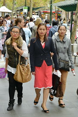 Melbourne Korea Festival 2014 (redstreaker) Tags: woman asian pretty candid korean heels koreafestival