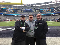 "Mike V, Razalcam and me before Super Bowl XLVIII • <a style=""font-size:0.8em;"" href=""http://www.flickr.com/photos/26237350@N00/14213038083/"" target=""_blank"">View on Flickr</a>"