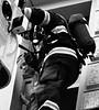 Fire Exercise 04 (Kojotisko) Tags: street city people rescue streets person czech streetphotography brno cc creativecommons fireman czechrepublic streetphoto persons firefighter praktica fujifilmfinepix fireexercise fujifilmfinepixsl1000 recsueing fujifilmfinepixsl1000kojotisko