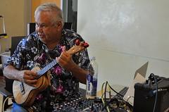 Haku (The Master) (MPnormaleye) Tags: portrait musician music man studio ukulele candid mixer musical utata instrument hawaiian uke casual players unposed intimate