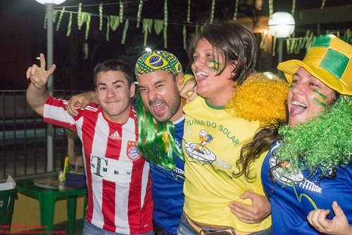2014 -  Brasil x Colombia -  Copa do Mundo, Turma do Solar, Inverno
