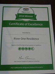Lla note Trip Advisor du one residence river