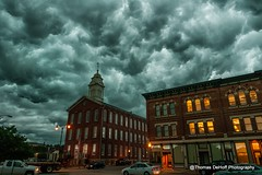 storm Clouds over Dubuque (Thomas DeHoff) Tags: storm clouds sony iowa dubuque a700