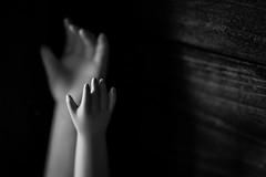 For Macro Mondays:Mysterious (laura_rivera) Tags: 90mm macro a7 sony laurarivera white black mysterious macromondays box hands doll
