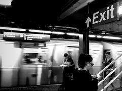 Exit (Ricardas Jarmalavicius) Tags: street streetphotography straat subway photography photographize photooftheday photographie photo iphoneography iphonephotography iphone6s monochrome mobilephotography mobiography mobitog mobilemag shootermag hotshoe shadows blackandwhite blackandwhitephotography blackwhite noiretblanc adorenoir newyork newyorkcity nyc candid people flickrheroes flickrsocial flickr america us usa