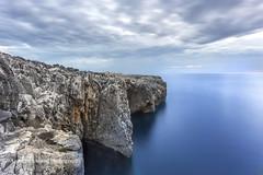 Blue (Anne Strickland) Tags: puglia italy italia italiancoastline adriaticsea cesereateme otranto tricase bellaitalia longexposure 10stopfilter blue rocky coastline