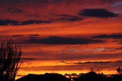 Sunset 9 7 16 #04 (Az Skies Photography) Tags: sun set sunset dusk twilight nightfall september 7 2016 september72016 9716 972016 scottsdale arizona az scottsdaleaz sky skyline skyscape arizonasky arizonaskyline arizonaskyscape arizonasunset cloud clouds red orange yellow gold golden salmon black jw marriott camelback inn jwmarriottcamelbackinn camelbackinn