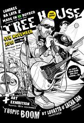 Poster | Tropic Boom (Lovatto Ilustrador) Tags: lovatto lovattoilustrador art exhibition show concert london londres illustration drawing dibujo arte tropic boom poster rock band made brasil boteco pub bar uk united kingdom