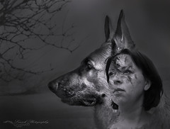 me and my dog (laurek.photography) Tags: dog portrait chien me tup