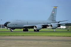 60-0355 KC-135R USAF (eigjb) Tags: mildenhall raf air base airport military boeing kc135 c135 tanker usaf us force k35r egun august 2001 transport jet aviation airplane aircraft pre digital slide scan usafe 600355 00355 grand forks 319arw