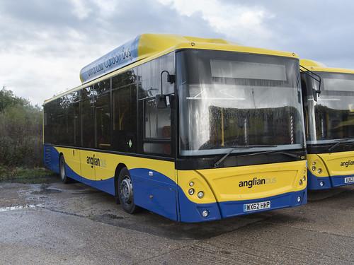 (064) Bus - Anglian - Man EcoCity - WX62 HHP - Beccles