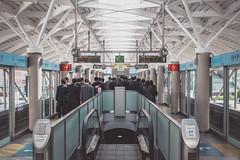 Rush hour (MichaWha) Tags: minatoku tkyto japon japan tokyo odaiba michaelflocco canoneos6d 1740mmf4lusm subway station people salarymen rushhour publictransport city