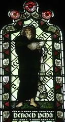 [45592] St Editha, Tamworth : Enoch (Budby) Tags: tamworth staffordshire church window stainedglass preraphaelite