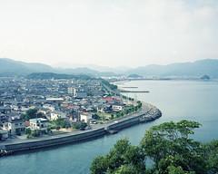 Japan landscape (hisaya katagami) Tags: plaubel makina 67 120film landscape sea town pro400h photography outdoor