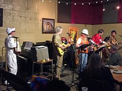 (Jean Arf) Tags: halloween 2016 costume littletheatre watkinsandtherapiers band music rick steve whit tom kerry scott