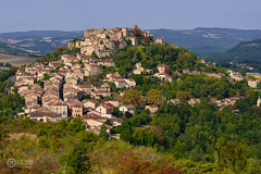 On the top of the hill (JCarlos.) Tags: medieval cordes otoo casitas houses france francia midy pirennes towns pueblos