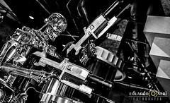 T-800 - Terminator (Eduardo A. Neri) Tags: terminator exterminador florida estados unidos united states universal studios filme movie pb bw t800 viagem trip traveling viajando eduardo neri nikon d7200