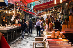 fresh market (Marco Brunetti) Tags: palermo ballar sicilia sicily street pentaxk30