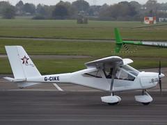 G-CIKE Foxbat Supersport 600 (Aircaft @ Gloucestershire Airport By James) Tags: gloucestershire airport gcike foxbat supersport 600 egbj james lloyds