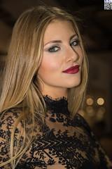 EICMA 2016 - XI (tnekralc) Tags: eicma 2016 blonde hair eyes face portrait mouth lips beauty