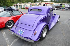 1934 Ford coupe (bballchico) Tags: 1934 ford 3window coupe chopped hotrod tommyegelston ratbastardscarshow carshow 30s 206 washingtonstate