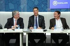 Jordi Cornet, Xavier Garcia Albiol y Ramón Riera