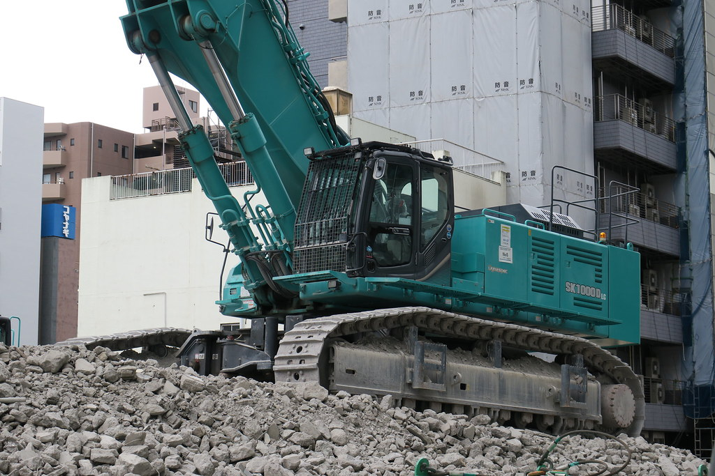 The World's Best Photos of demolition and kobelco - Flickr Hive Mind