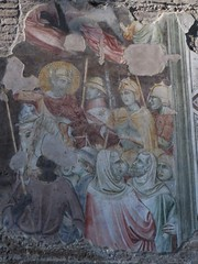 Histoire de Saint Jacques, 1448, Andrea Mantegna, chapelle Ovetari, église des Erémitiques, 1276, piazza Eremitani, Padoue, Vénétie, Italie. (byb64) Tags: eremitani padoue padova padua padoa patavium provincedepadoue provinciadipadova veneto vénétie venetien italie italy italia italien europe eu europa ue ville citta ciudad town église church chiesa kirche iglesia igreja igrexa roman romanico romanesque romanesqueart artroman xiiie 13th duecento 1448 xve 15th quattrocento renaissance renacimiento rinascimento mantegna andreamantegna storiadisangiacomo fresque fresques frescoes frescos fresco fresko affreschi