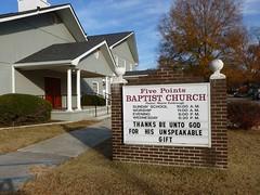 Semantics (Jer*ry) Tags: church sign message bible verse neighborhood huntsville words semantics religion