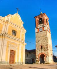 Chiesa di Palazzo Canavese (rasocarlo66) Tags: palazzocanavese chiesa viafrancigena francigena torrecampanaria canavese