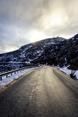 Parnitha (nikolasga) Tags: parnitha road snow winter athens sony nex 5 greece