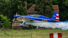 'Smoke on!' - Old Warden (davepickettphotographer) Tags: theshuttleworthcollectionuk airshow uk biggleswade oldwarden bedfordshire aircraft shuttleworthcollection gb airmuseum trust park extra 300s ea300s markjefferies globalstars