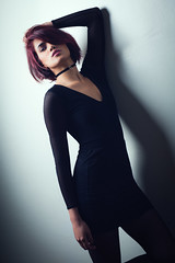 Najwa (aminefassi) Tags: aminefassi fashion morocco najwasabbar people portrait  najwa studio strobist casablanca maroc godox mode