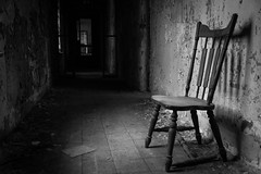 There's Always A Chair (Robert Jack Images) Tags: blackandwhite bnw noire noir chair abandoned urbanexploring urbex urbexing
