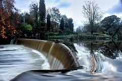 Guyzance Weir (craigdwilkinson) Tags: guyzance weir guyzanceweir northumberland reflection rivercoquet