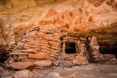 Home is Where the Hands are (Stephen Oachs (ApertureAcademy.com)) Tags: utah hand prints anasazi dwelling granary cedar mesa