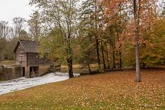 McHargue's Mill (Back Road Photography (Kevin W. Jerrell)) Tags: mills milldams levijacksonwildernessroadstatepark london kentucky littlelaurelriver backroadphotography fall nikond60 autumncolors autumn seasonal colorful