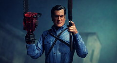 We gave peace a chance. Now it's time for war! (kevchan1103) Tags: neca ash vs evil dead bruce campbell el jefe necronomicon toys action figure