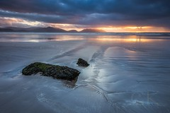 Sunset in Kerry (grahamkelly2) Tags: cloud fineart ireland landscape landscapephotographyireland photography sea sunset colour dingle graduatedfilter grahamkelly inchbeach kerry leefilters mountians ndfilter seascape wildatlanticway