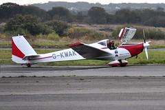 G-KWAK (goweravig) Tags: gkwak sceibe sf25 falke swansea wales uk swanseaairport visiting aircraft motorglider