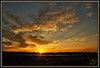 Rays of hope (WanaM3) Tags: wanam3 sony a700 sonya700 texas houston hour rays sunset elfrancoleepark park field goldenhour vista landscape