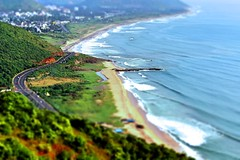 Kailash giri (Dream.wide.open) Tags: india kailashgiri nature incredibleindia scenic waves beach beauty capture vizag photography flickr trees sea bayofbengal shore