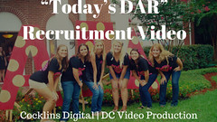 Todays DAR Recruitment Video  Cocklins Digital (Cocklins Digital) Tags: dcvideoproduction videoproductionservice washingtonvideoproduction commercialvideoproduction corporatevideoproduction documentaryvideoproduction filmproduction filmmaking multicameravideoproduction mediaproduction videoeditingservice