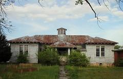 Old School (ariel is . . .) Tags: schoolhouse oldschool cupola tinroof virginia va empty abandoned ruraldecay overgrown